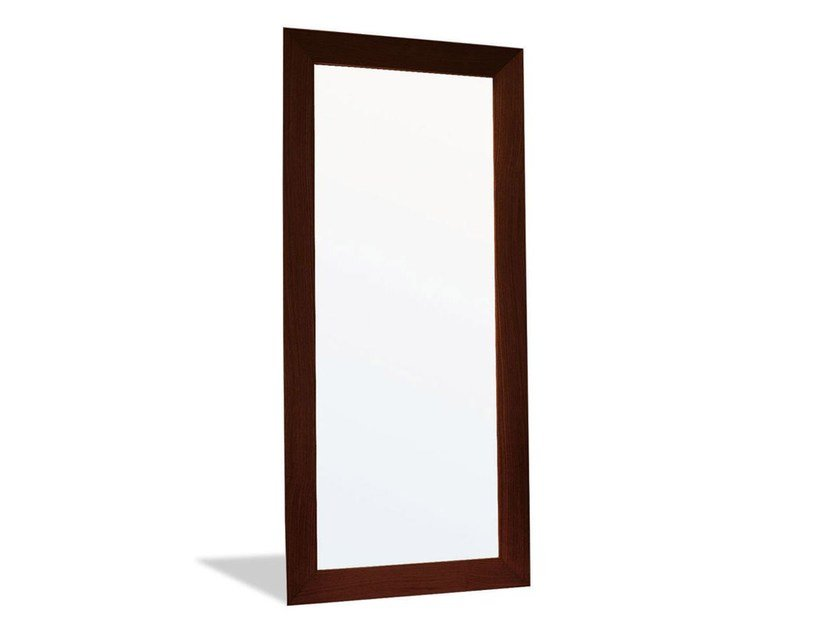 Countertop rectangular framed mirror DOUBLE | Rectangular mirror by Calligaris