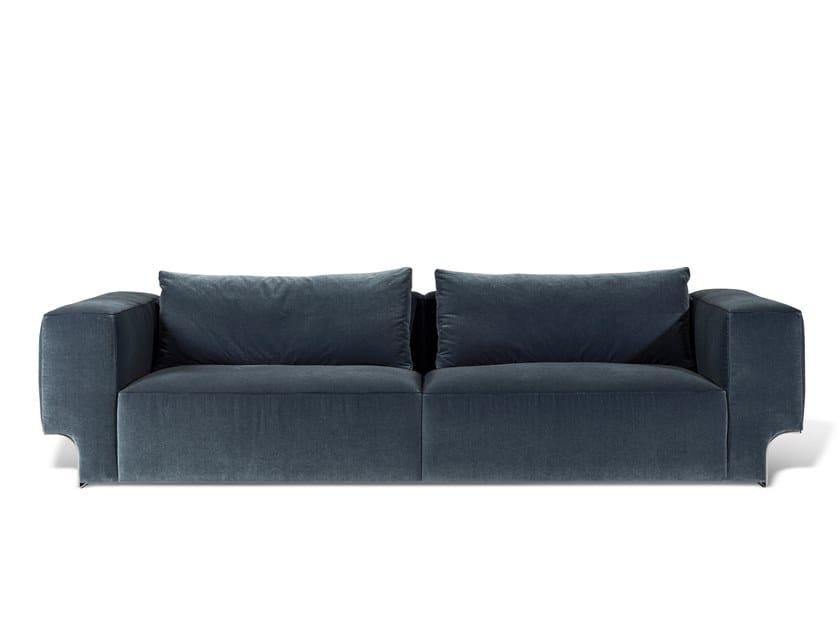3 seater fabric sofa DOUGLAS | Velvet sofa by Visionnaire