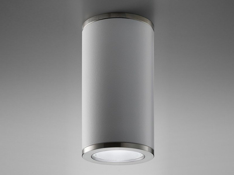 LED brass ceiling lamp DOWN 65 by PURALUCE