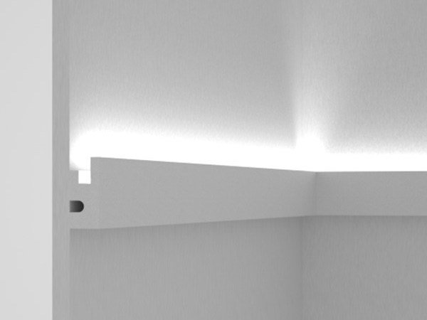 Linear lighting profile for LED modules Wall-mounted LED frame By Eleni