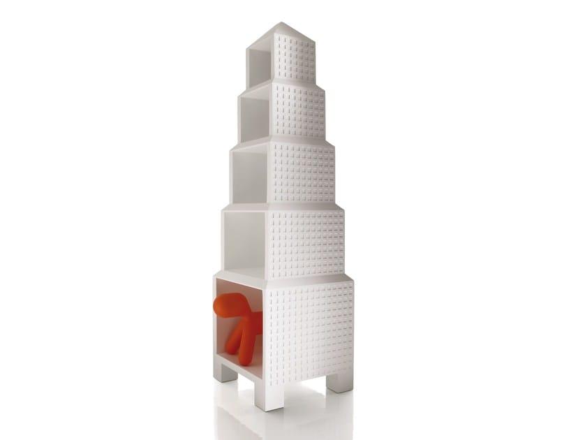 Polyethylene toy storage box DOWNTOWN by Magis