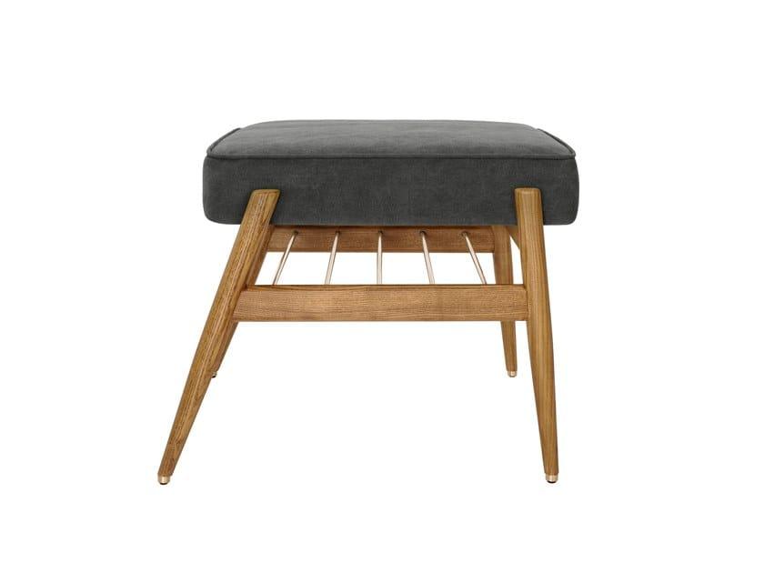 Denim fabric footstool FOX DENIM | Footstool by 366 Concept s.c.