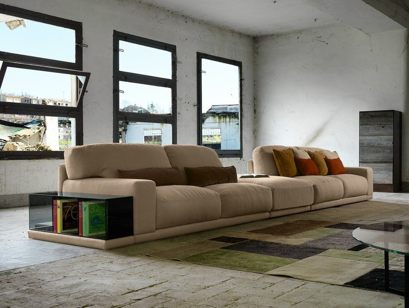 Sectional sofa DOYLE | Sectional sofa by Domingo Salotti