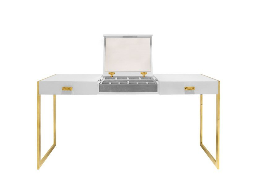 Wooden dressing table DOYLE by ANA ROQUE INTERIORS