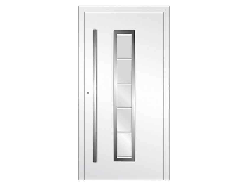 Aluminium armoured door panel DP 01 | Door panel by EKO-OKNA