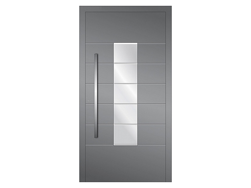 Aluminium armoured door panel DP 06 | Door panel by EKO-OKNA