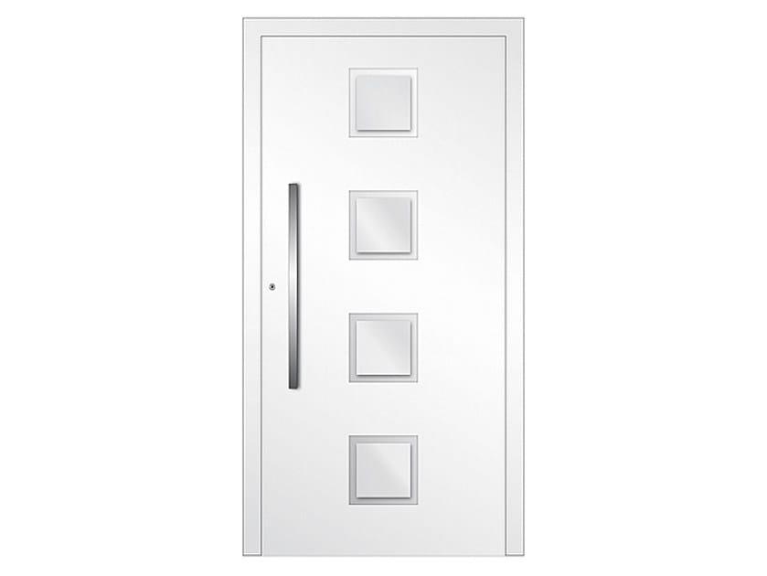 Aluminium armoured door panel DP 08 | Door panel by EKO-OKNA