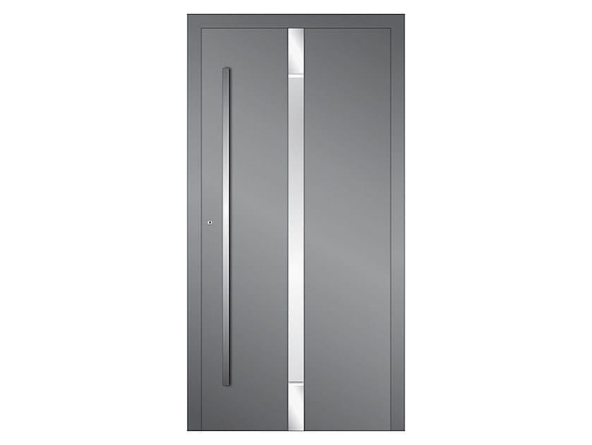 Aluminium armoured door panel DP 11 | Door panel by EKO-OKNA