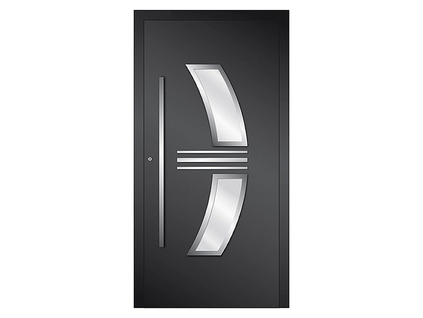 Aluminium armoured door panel DP 15 | Door panel by EKO-OKNA