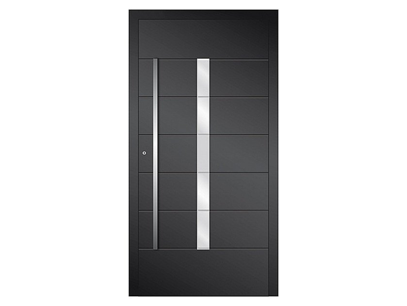 Aluminium armoured door panel DP 16 | Door panel by EKO-OKNA