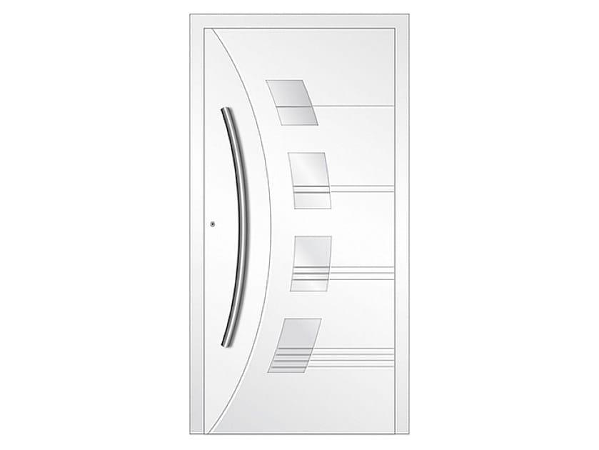 Aluminium armoured door panel DP 17 | Door panel by EKO-OKNA