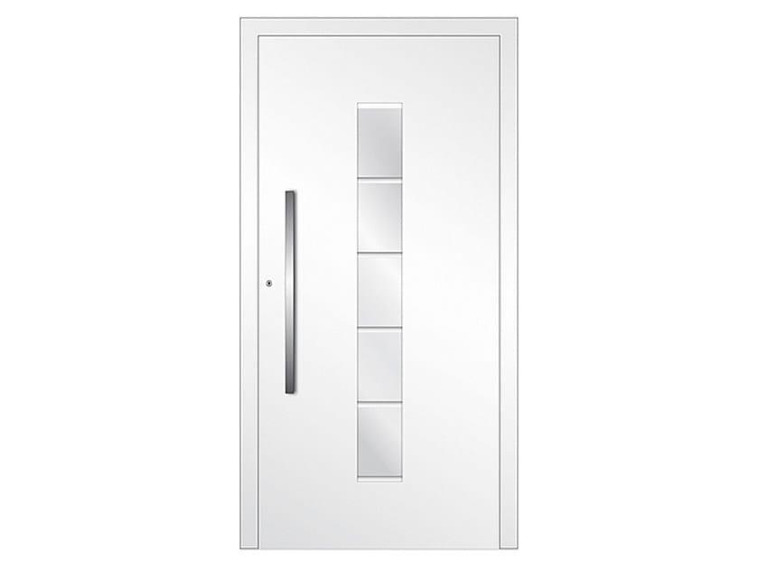 Aluminium armoured door panel DP 19   Door panel by EKO-OKNA