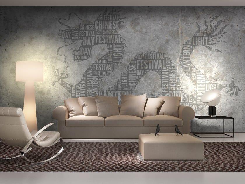 Writing wallpaper DRAGON by Wall LCA