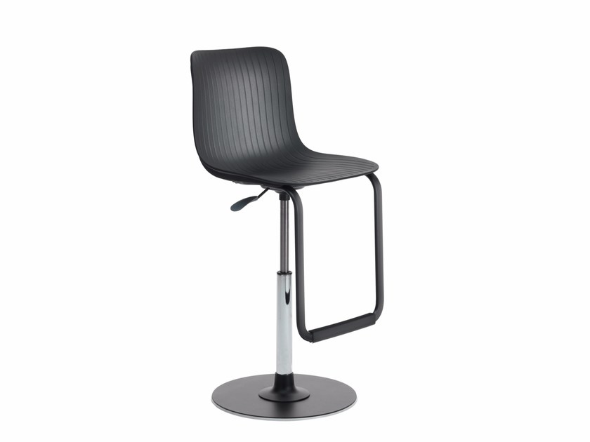 Height-adjustable polypropylene chair DRAGONFLY G0020 by Segis