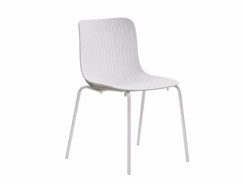 Polypropylene chair DRAGONFLY S0024 by Segis