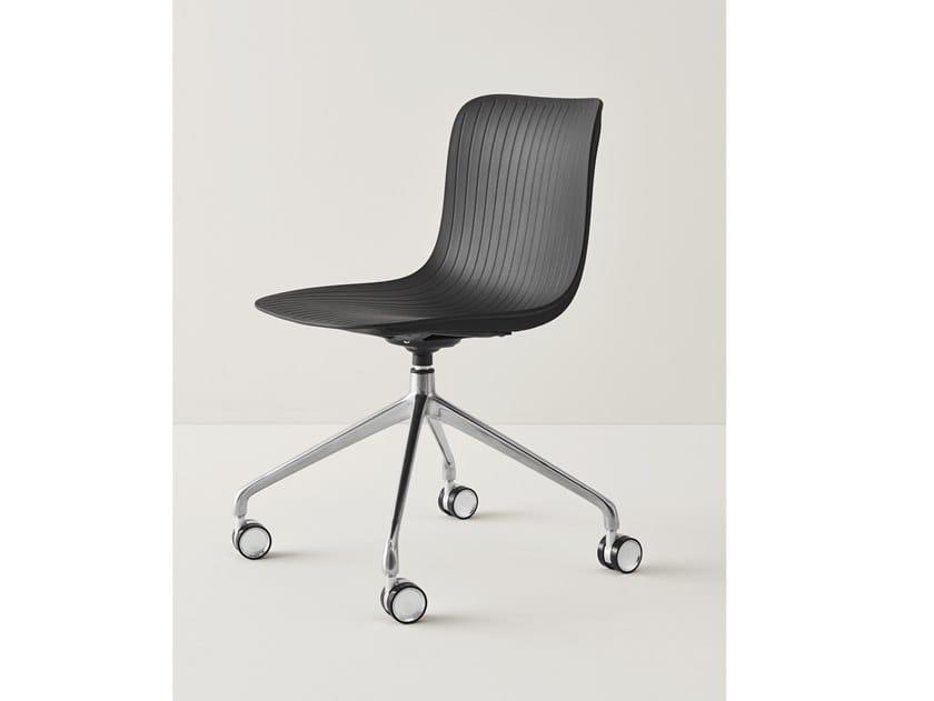 Dragonfly sedia ufficio operativa con ruote by segis design