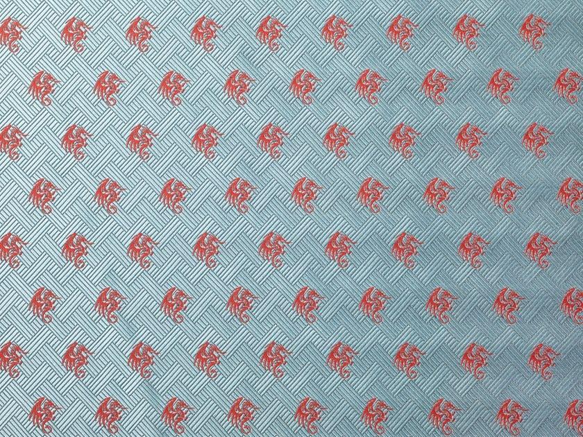 Fire retardant Trevira® CS upholstery fabric DRAGUEUR by Dedar