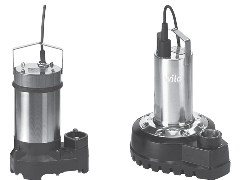 Purification and disposal system DRAIN TS 40-65 by WILO Italia