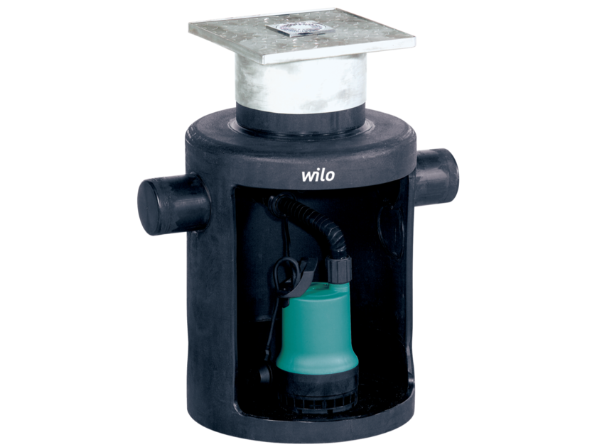 Component for sewer network DRAINLIFT BOX by WILO Italia