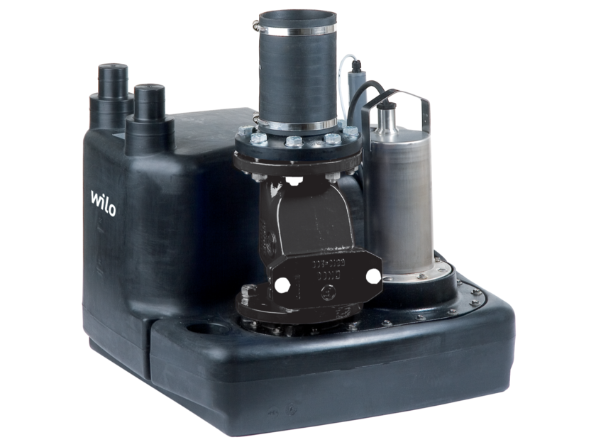 Component for sewer network DRAINLIFT M by WILO Italia
