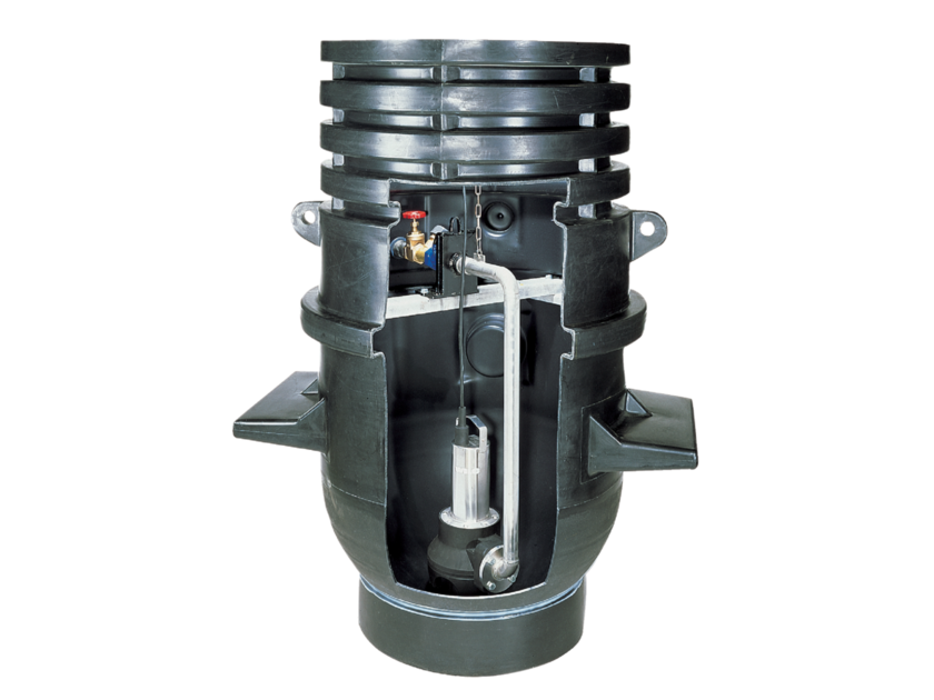 Component for sewer network DRAINLIFT WS 900/1100 by WILO Italia
