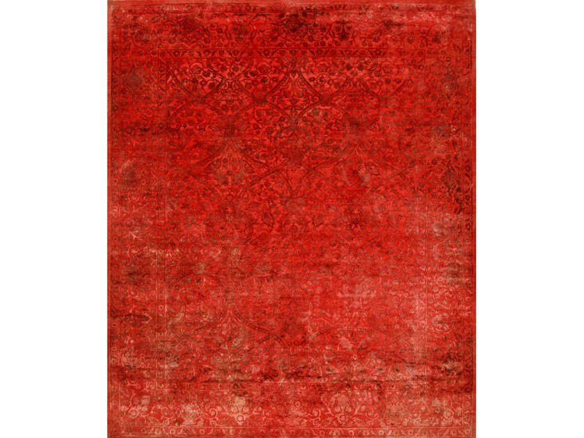 Solid-color rug DRASS NE-2349 Faded Rose by Jaipur Rugs