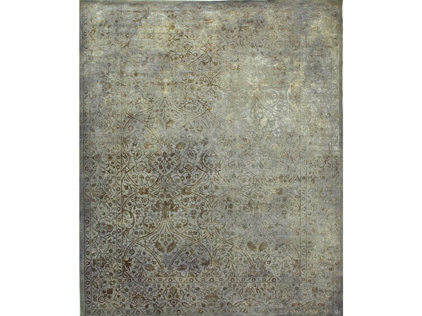 Solid-color rug DRASS NE-2349 Medium Gray by Jaipur Rugs