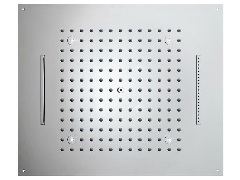LED 3-spray overhead shower Dream 3 Sprays - LED LIGHTS by Bossini