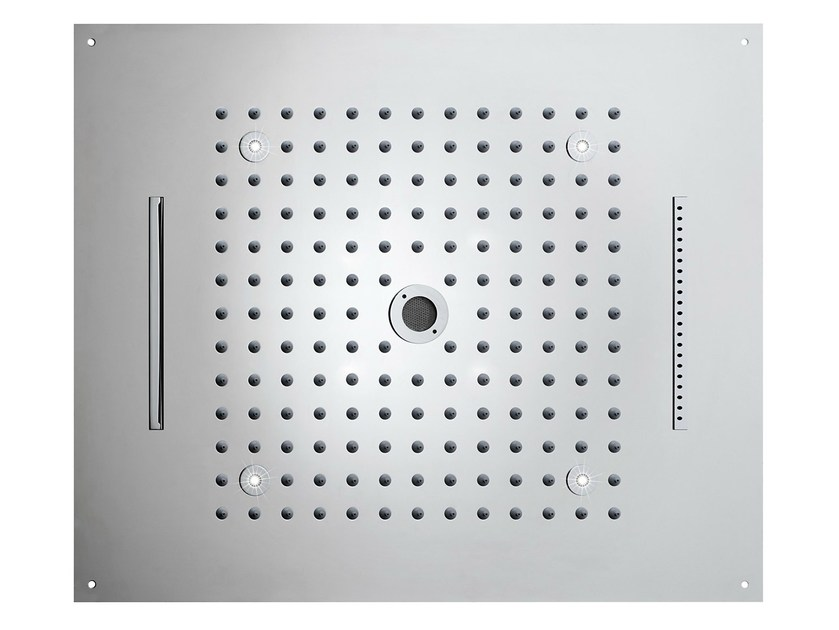 Contemporary style LED overhead shower Dream 4 Sprays - LED LIGHTS by Bossini