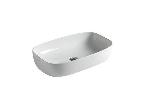 Countertop ceramic washbasin DREAM - 64 CM by GALASSIA