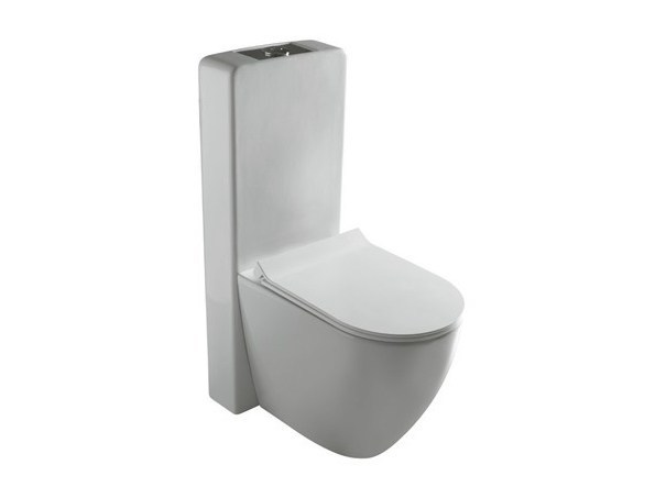 Close coupled ceramic toilet DREAM | Close coupled toilet by GALASSIA