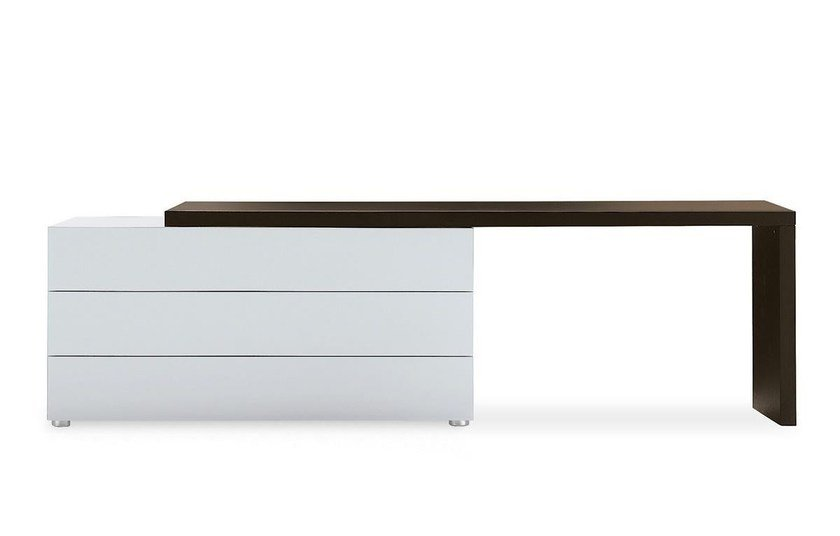 Wood veneer chest of drawers DREAM   Chest of drawers by poliform