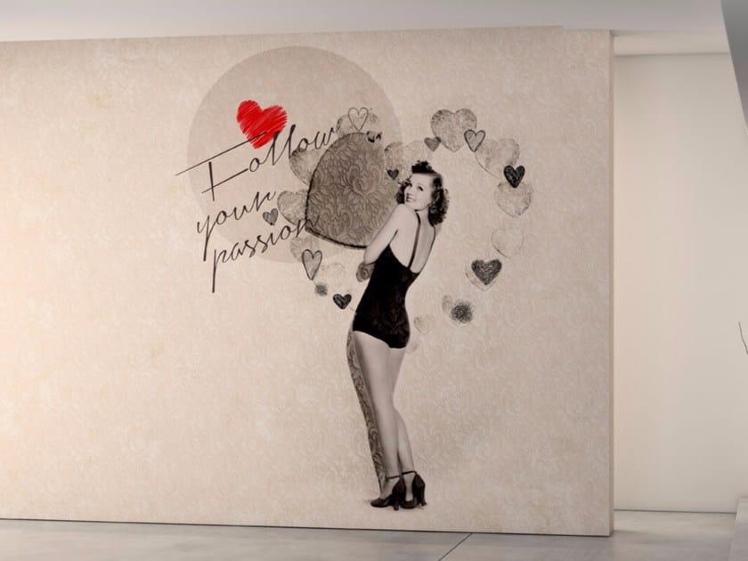 Washable writing vinyl wallpaper DREAM by GLAMORA