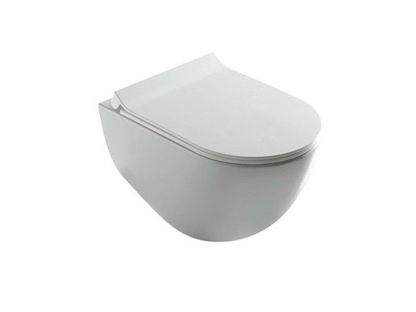 Wall-hung ceramic toilet DREAM | Wall-hung toilet by GALASSIA