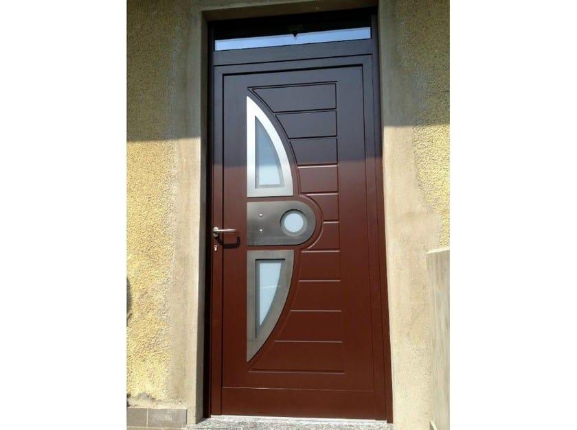 Glass and aluminium door panel DREAM/X3 by ROYAL PAT