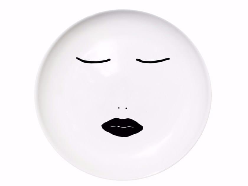 Ceramic dinner plate DREAMER by Kiasmo