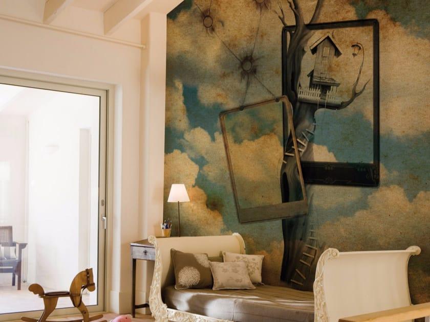 Panoramic landscape wallpaper DREAMLAND by Inkiostro Bianco