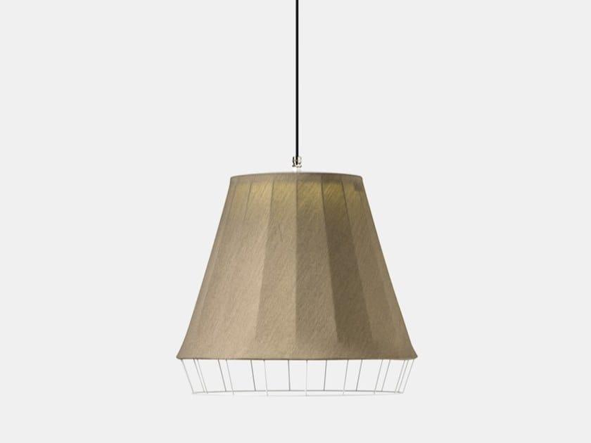 Lampada a sospensione per esterno a LED in tessuto DRESS D21 by Il Fanale