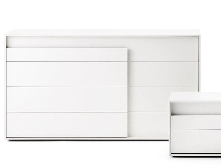 Chest of drawers OVERLAP | Chest of drawers by Novamobili