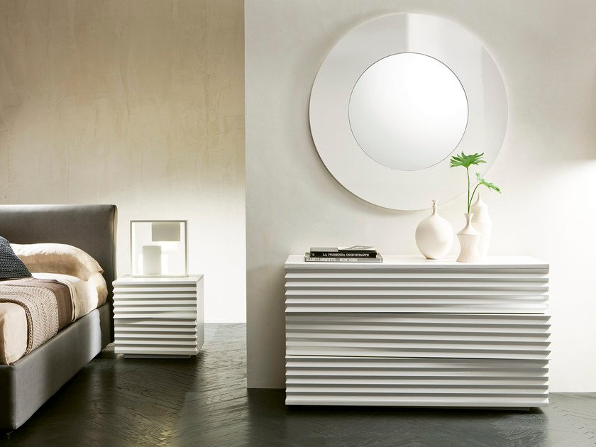 Wood fibre chest of drawers TIFFANY | Chest of drawers by Pacini & Cappellini