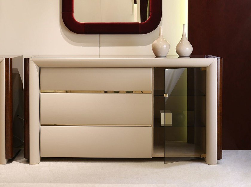 Wooden chest of drawers MADISON | Chest of drawers by Turri