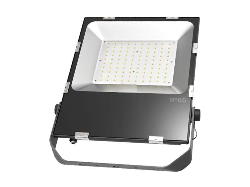 Proiettore per esterno a LED orientabile in alluminio pressofuso DRILLO 100 N by NEXO LUCE