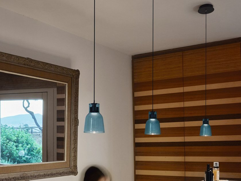LED pendant lamp DRIP S/01L by BOVER