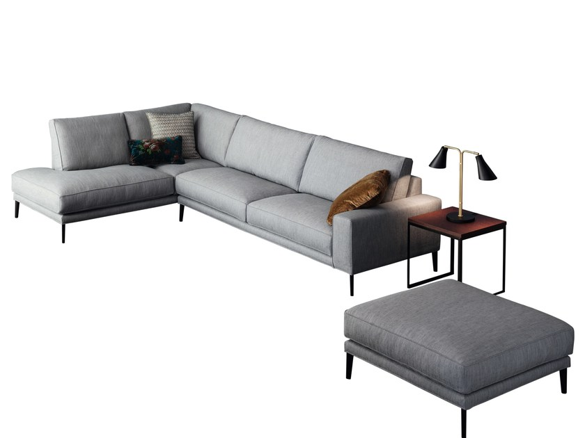 Corner sofa with removable cover DRIVER | Corner sofa by Twils
