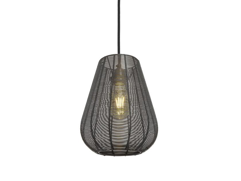 Iron pendant lamp DROP CAGE by Industville