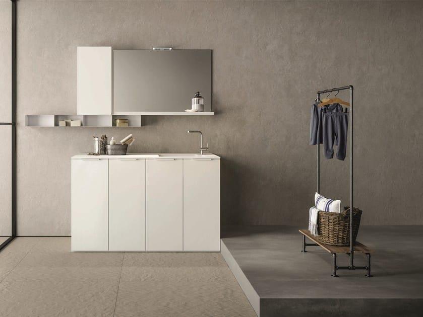Mobile lavanderia componibile drop composizione d novello