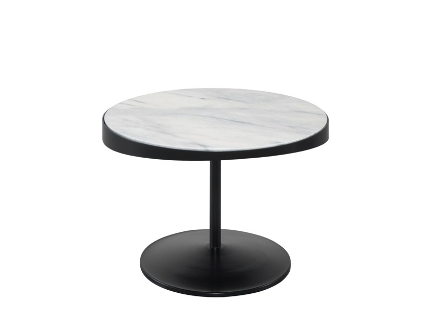 Low marble coffee table DROP | Marble coffee table by Wewood