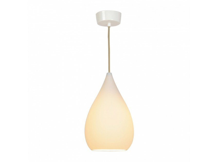 Porcelain pendant lamp with dimmer DROP ONE LARGE by Original BTC