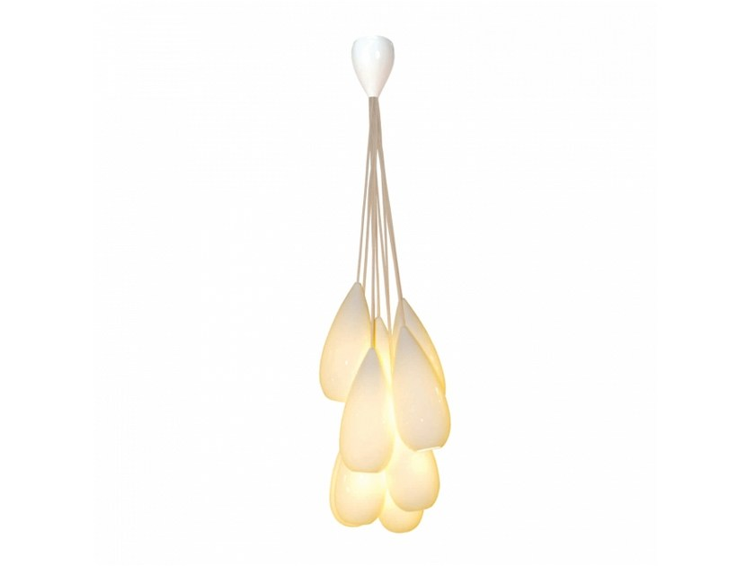 Original Drop Lampada Porcellana Con Fluorescente ZeroNine In Dimmer Sospensione Btc A IYf6vmgb7y
