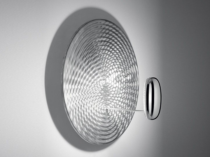 Indirect light die cast aluminium wall light DROPLET MINI | Wall light by Artemide